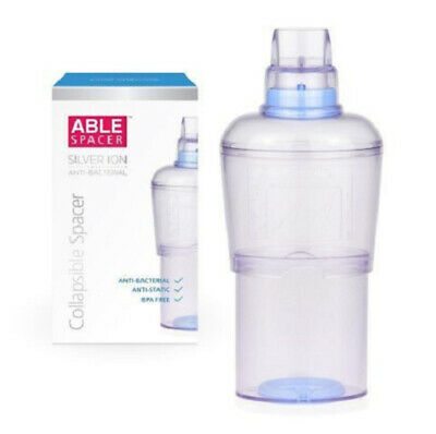 Able Spacer Collapsible Spacer BPA-Free, Anti-Bacterial