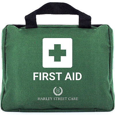 Harley Street Care 103-Piece Premium First Aid Kit Emergency Medical Bag Compact