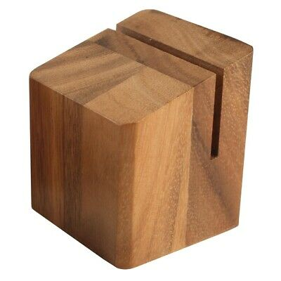Wooden Menu Holder and Riser (Next working day UK Delivery)