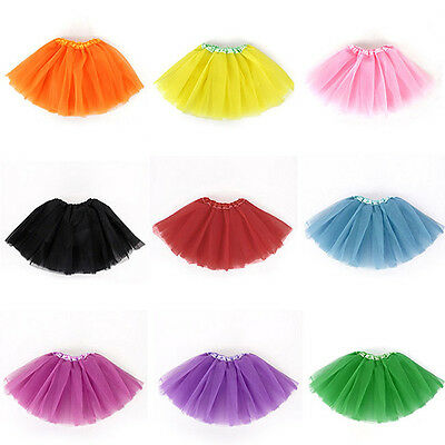 Baby Girls Kid Infant Dancewear Tutu Dancewear Skirt Ballet Dress Cloth best AU