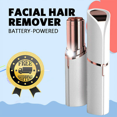 Facial Hair Remover Battery Power Flawless Finishing Painless Face Removal Women