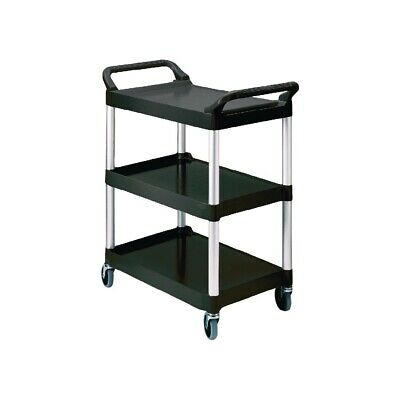 Rubbermaid Compact Utility Trolley Black (Next working day UK Delivery)
