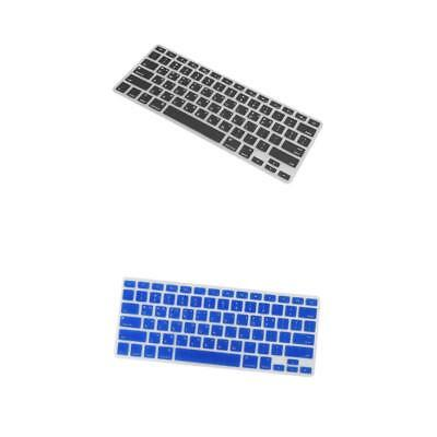 "2Pcs cover proteggi pelle tastiera in silicone per Apple Macbook Pro 13 ""15"""