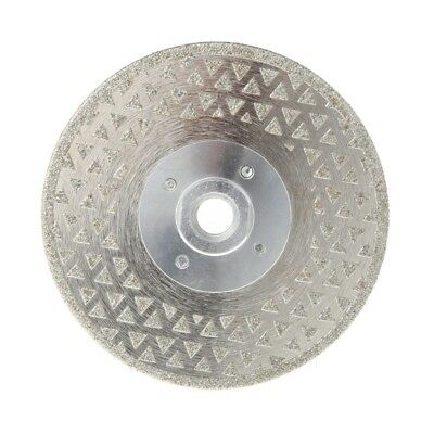 "4.5""M14 Electroplated Diamond Cutting Grinding Disc Saw Blade For Marble Granite"