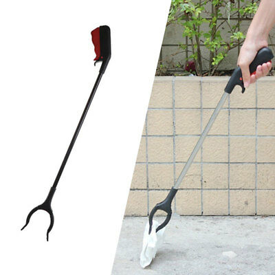 Cleaning Tool Ground Garbage Reach Grabber Tool Reach Hand Stick Useful Helping