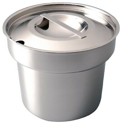 Vogue Bain Marie Pot and Lid (Next working day UK Delivery)