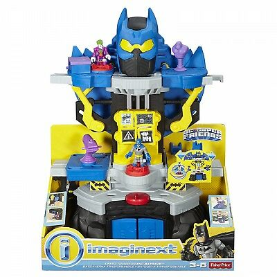 Fisher Price Imaginext Batman Transforming Batcave Joker figure