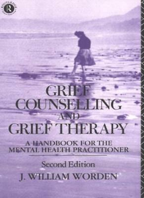 Grief Counselling and Grief Therapy: A Handbook for the Mental  .9780415071796