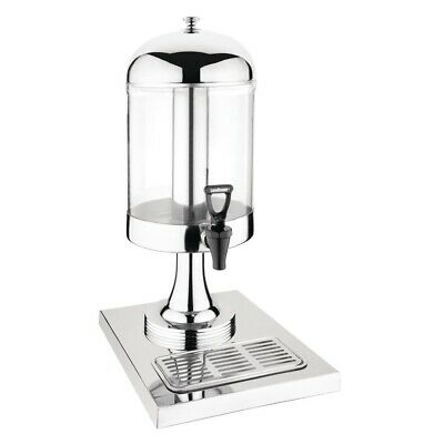 Olympia Single Juice Dispenser with Drip Tray (Next working day UK Delivery)