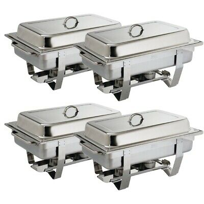 Milan Chafing Set Four Pack (Pack of 4) (Next working day UK Delivery)