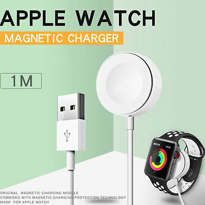 Hot Magnetic Charger Charging Cable For Apple Watch iWatch Series 2/3 38 42mm US