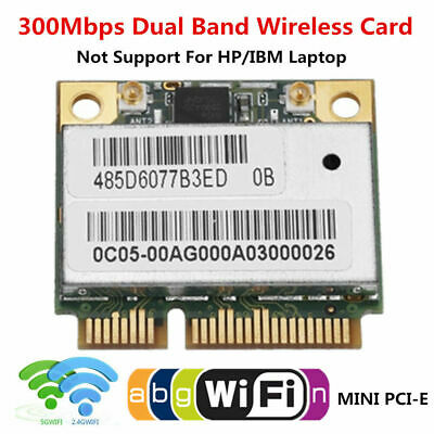 Broadcom BCM943428HM 300Mbps 2.4//5GHz Dual Band Mini PCI-E Card 802.11abgn