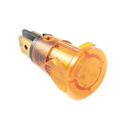 Amber Round Neon Light for Lincat Boiling Unit (Next working day UK Delivery)