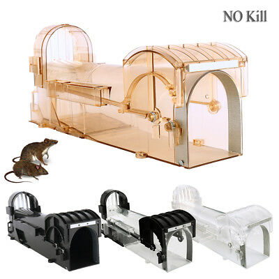 Humane Hamster Rat Mouse Trap Cage Bait Automatic Live Catching Bait Big Cheese