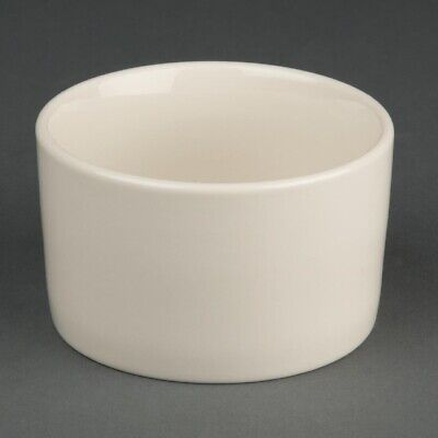 Olympia Ivory Contemporary Ramekins 90mm (Pack of 12) (Next working day to UK)