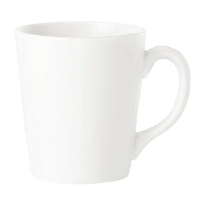 Steelite Simplicity White Coffeehouse Mugs 262ml (Pack of 36)
