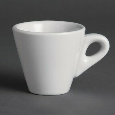 Olympia Whiteware Conical Espresso Cups 60ml 2oz (Pack of 12)