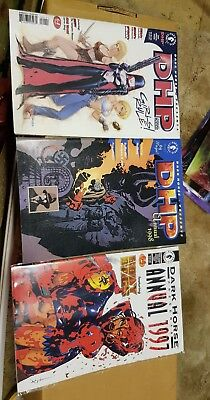 dark horse DHP  annuals 1997, 1998 & 2000 first buffy and Hellboy