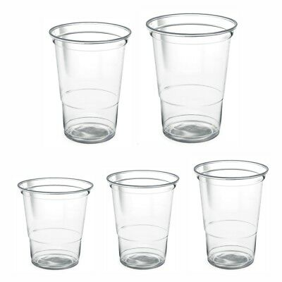 Plastic Crystal Clear 8oz 10oz 12oz 15oz 20oz disposable Tumblers Cups Drink Cup