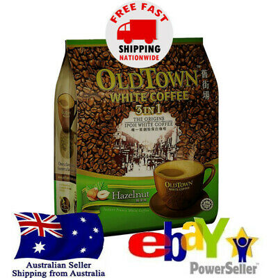 OldTown Old Town White Coffee Classic Hazelnut 3 in 1 Instant Halal 15 sch x 40g
