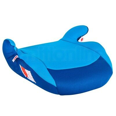 Polco Blue Child Kids Travel Booster Seat Chair Cushion 3-12 Years Group 2/3