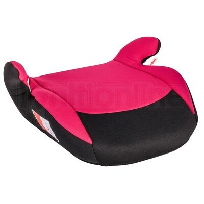 Polco Pink Child Kids Travel Booster Seat Chair Cushion 3-12 Years Group 2/3
