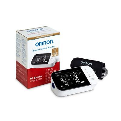 Omron 10 Series Wireless Bluetooth Upper Arm Blood Pressure Monitor with Two Use
