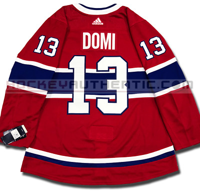 MAX DOMI MONTREAL Canadiens Home Authentic Pro Adidas Nhl Jersey ... f865176d1