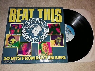 Beat This - 20 Hits from Rhythm King    Vinyl LP Sampler