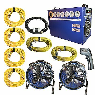 Bed Bug Heater System, Kills and Gets Rid of All Bed Bugs in a Home, 240/40 Amp