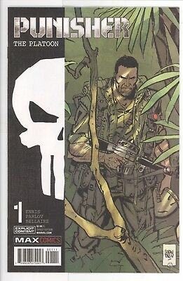 Punisher: The Platoon #1 - Goran Parlov Cover - Marvel Comics/2017