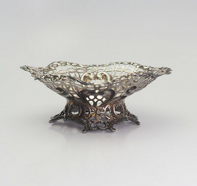 Beautiful antique English UK sterling silver condiment candy dish
