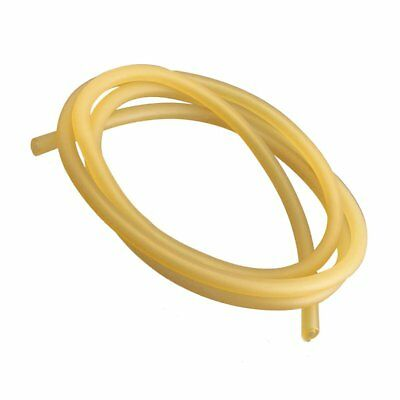 Natural Latex Rubber Surgical Band Tube Elastic 2x5mm Yellow size:1M V6F6