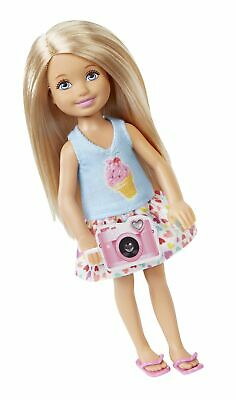 Barbie Great Puppy Adventure Chelsea Doll with a Camera