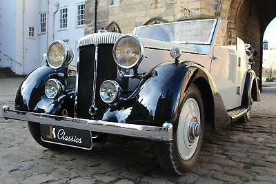 1937 DAIMLER LIGHT TWENTY Wingham Cabriolet Classic in Grey Black