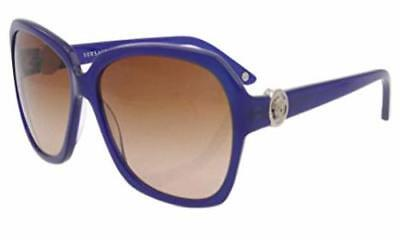 8c3b07e63c7 Authentic Versace Sunglasses VE2144 1002 13 Violet Frames Brown Lens 58MM