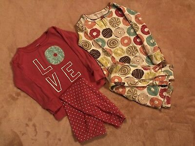Carters Baby Girl 24 Months PJ Sets