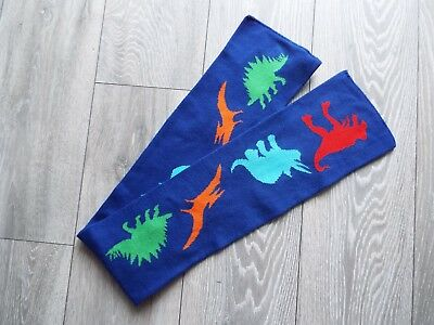 Uni-sex 3-6 years Dinosaur themed vibrant and colouful scarf by TU