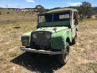 1950 Land Rover Series 1 80 inch 1.6 Litre - Superb Chassis & Bulkhead