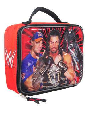 WWE Insulated Lunchbox - red, one size