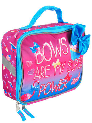 Jojo Siwa Insulated Lunchbox - pink, one size