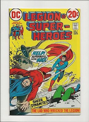 Legion of Super-Heroes #1 (1973) - Newsstand Fresh Bronze Age Book