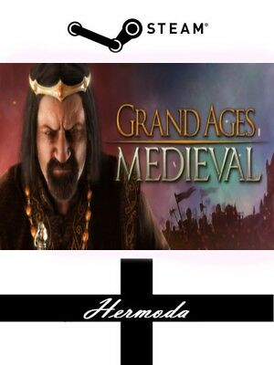 Grand Ages: Medieval Steam Key - for PC, Mac or Linux (Same Day Dispatch)