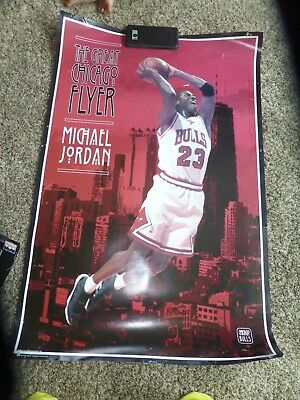 Lot Of 10 Authentic Vintage Michael Jordan Wall Posters RARE Full Size!
