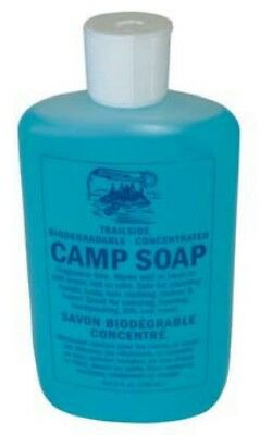Trailside Camp Soap - Biodegradable, Concentrated - 8oz (240mL)