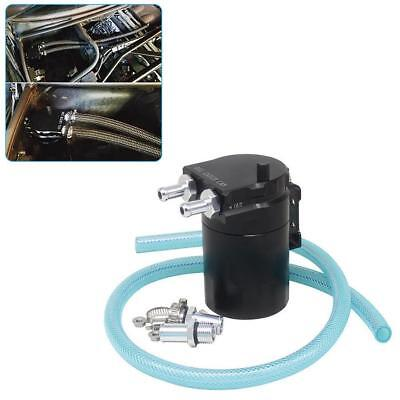 1stkOil Catch Tank Can Baffled Oil Catch Can Tank Universal Easy To Use M Gift