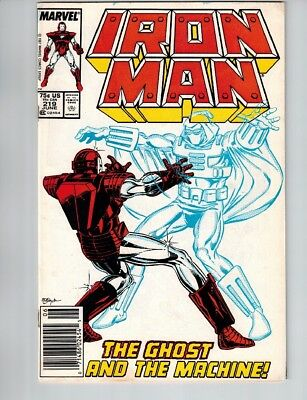 Iron Man 219 Newsstand, 220, 221 Lot 1st App Of Ghost Antman Wasp Movie Villain!