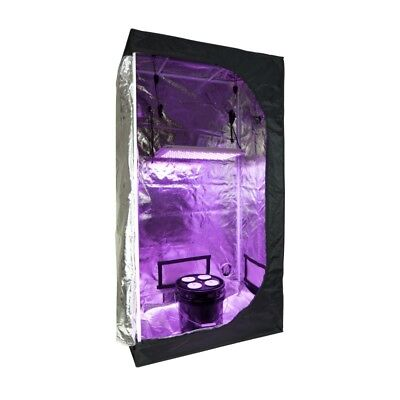 DWC Hydroponic System Grow Room   Complete Grow Tent Kit w/ LED & Nutrients