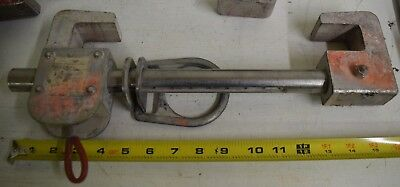 Miller Fall Arrest Protection Beam Clamp Model 8814-12 Safety Anchor Beamer