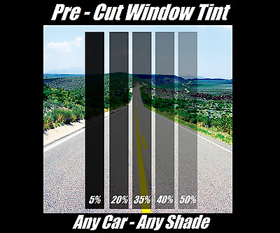 Pre Cut Window Tint All Sides & Rears Any Shade VLT for ALL HONDA SUV black
